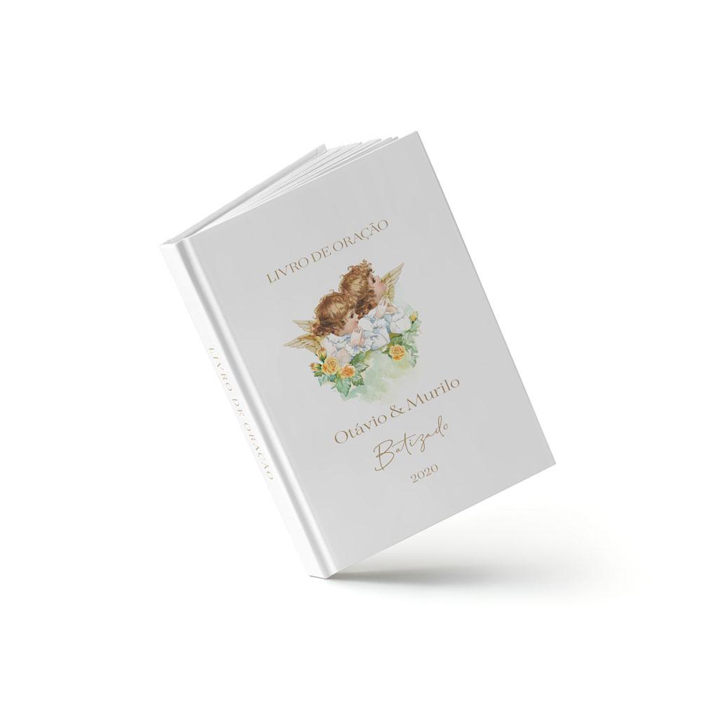 Livro Batizado - Anjinhos - Sweetcards