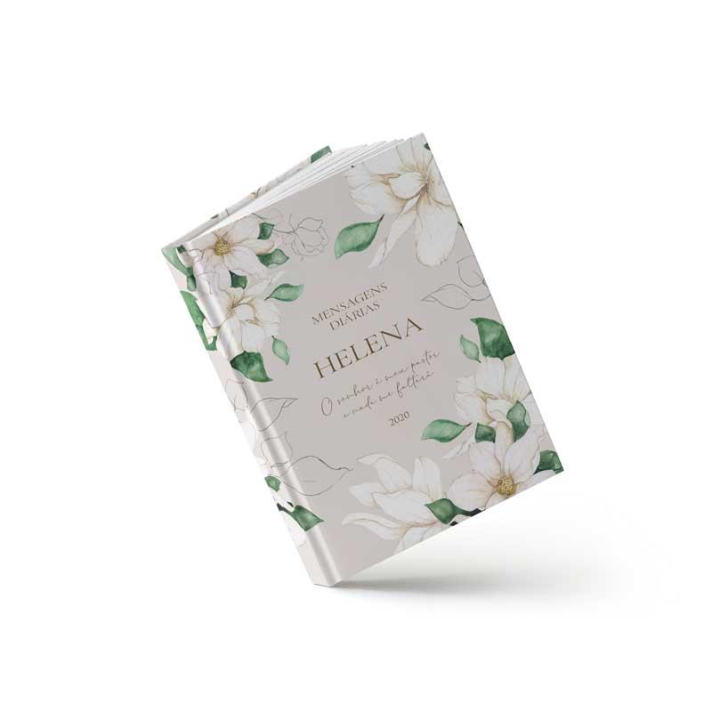 Livro de Orações - Floral Branco - Sweetcards