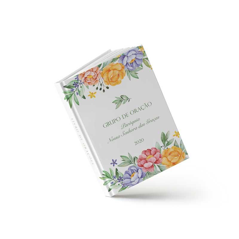 Livro de Orações - Flores Vivas - Sweetcards