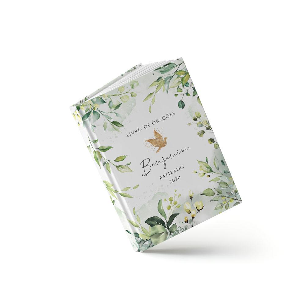 Livro Batizado - Forest - Sweetcards