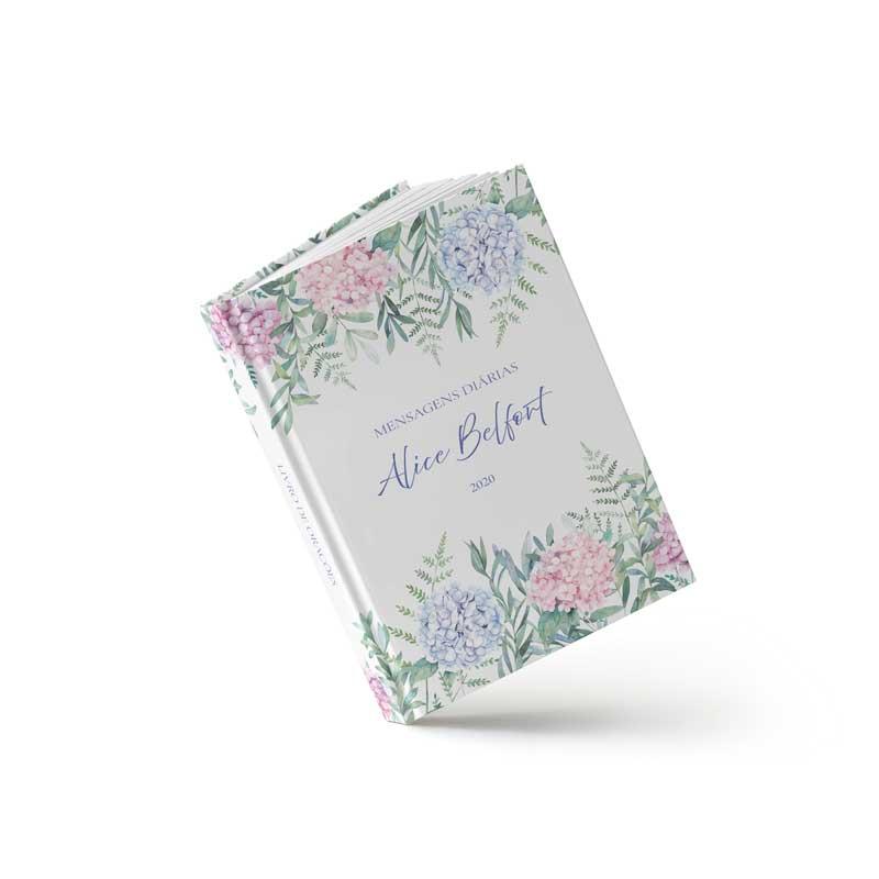 Livro de Orações - Hortencia Rosa - Sweetcards