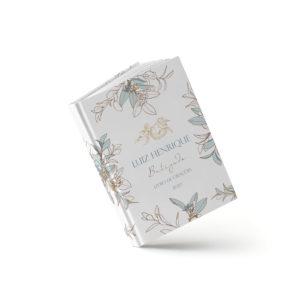 Livro Batizado - Royal Azul - Sweetcards