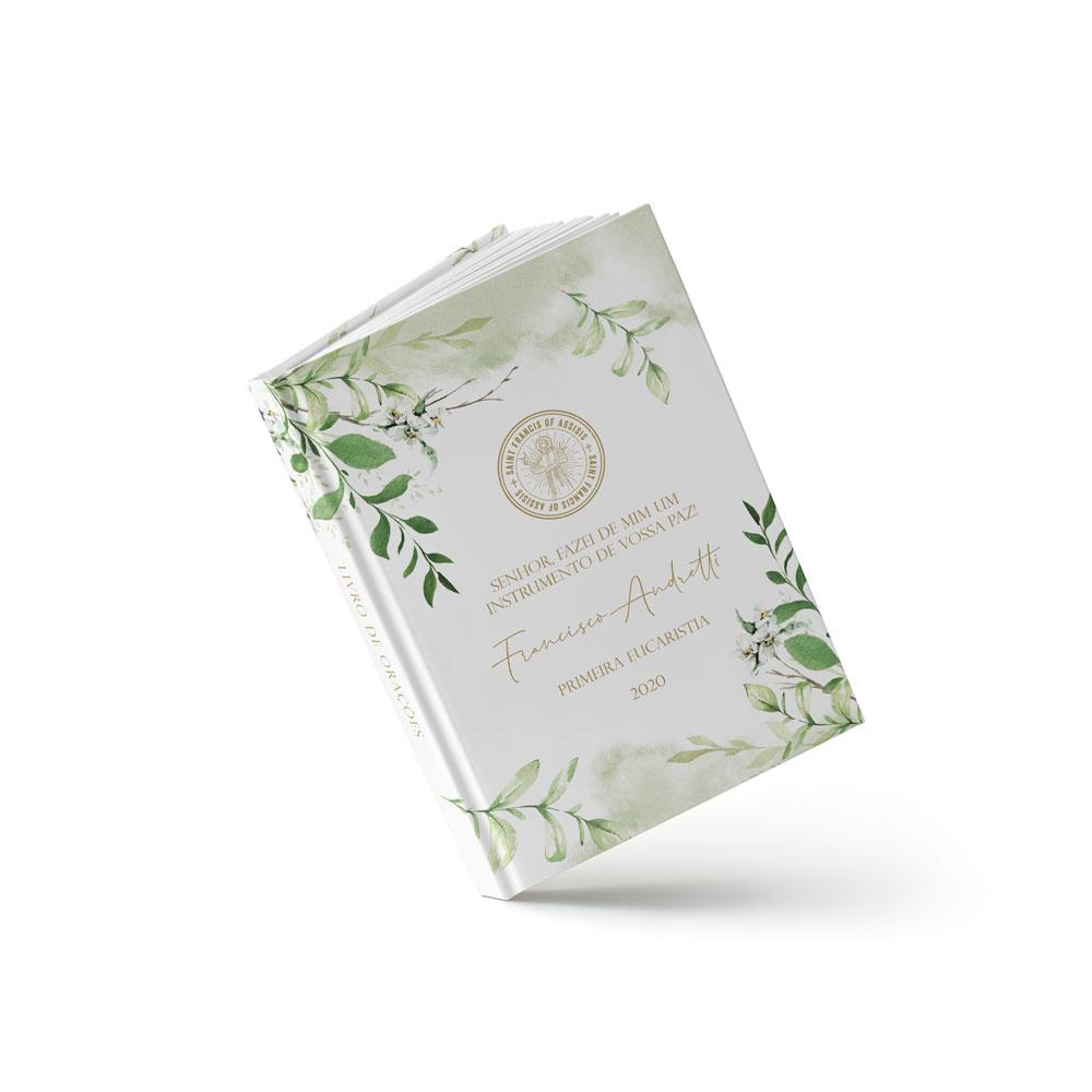 Livro Primeira Eucaristia - São Francisco - Sweetcards