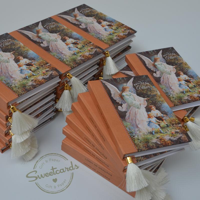 Livro de orações com tema Anjo da Guarda
