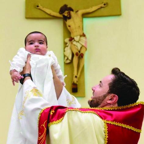 Batizado do Benício em Ibitinga – São Paulo