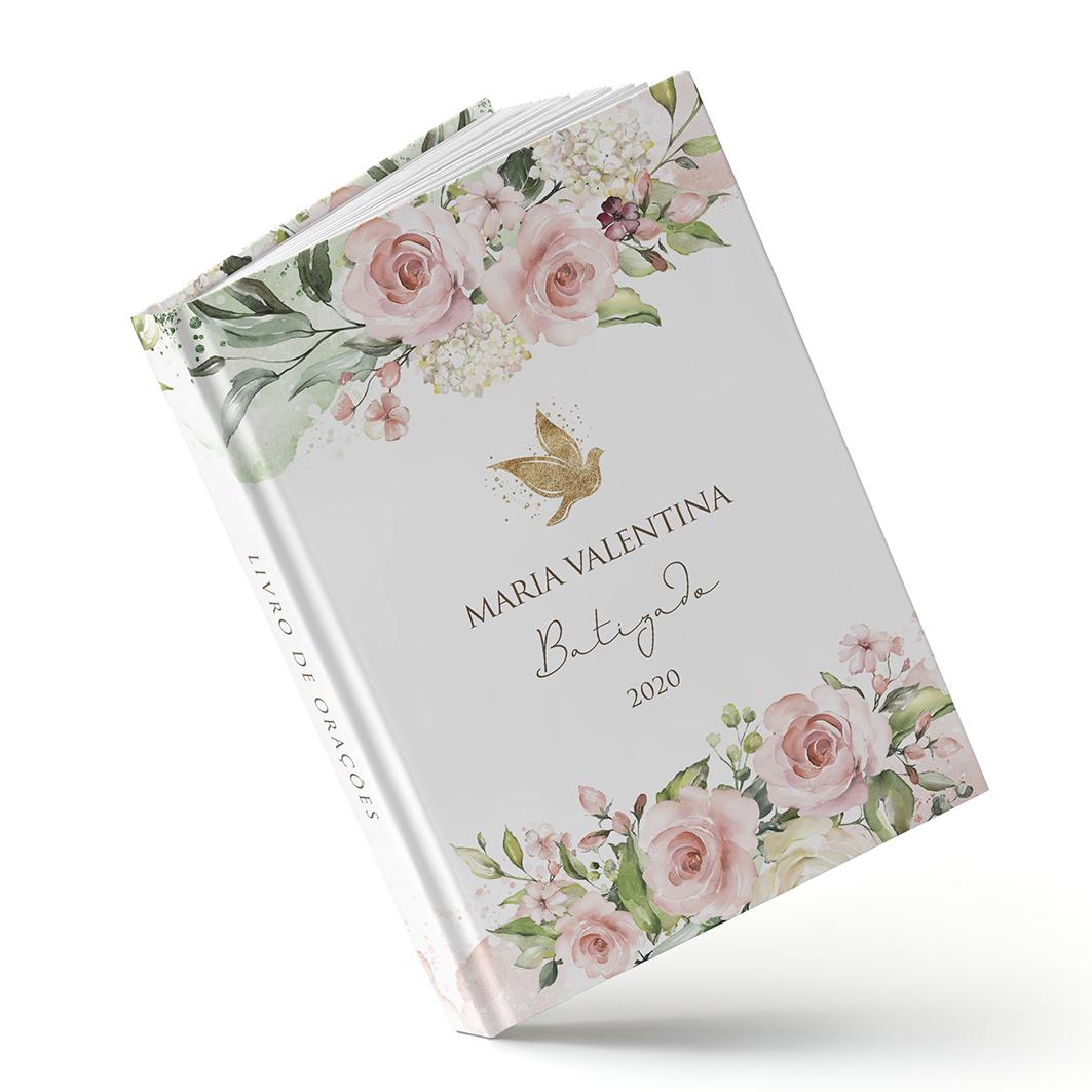 Livro de Orações - Floral Rosa - Sweetcards