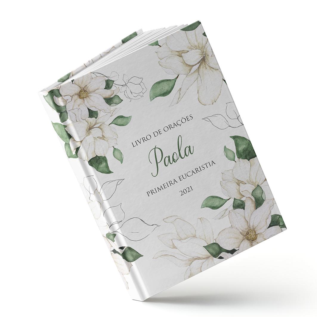 Mensagens Diárias - Floral Branco - Sweetcards