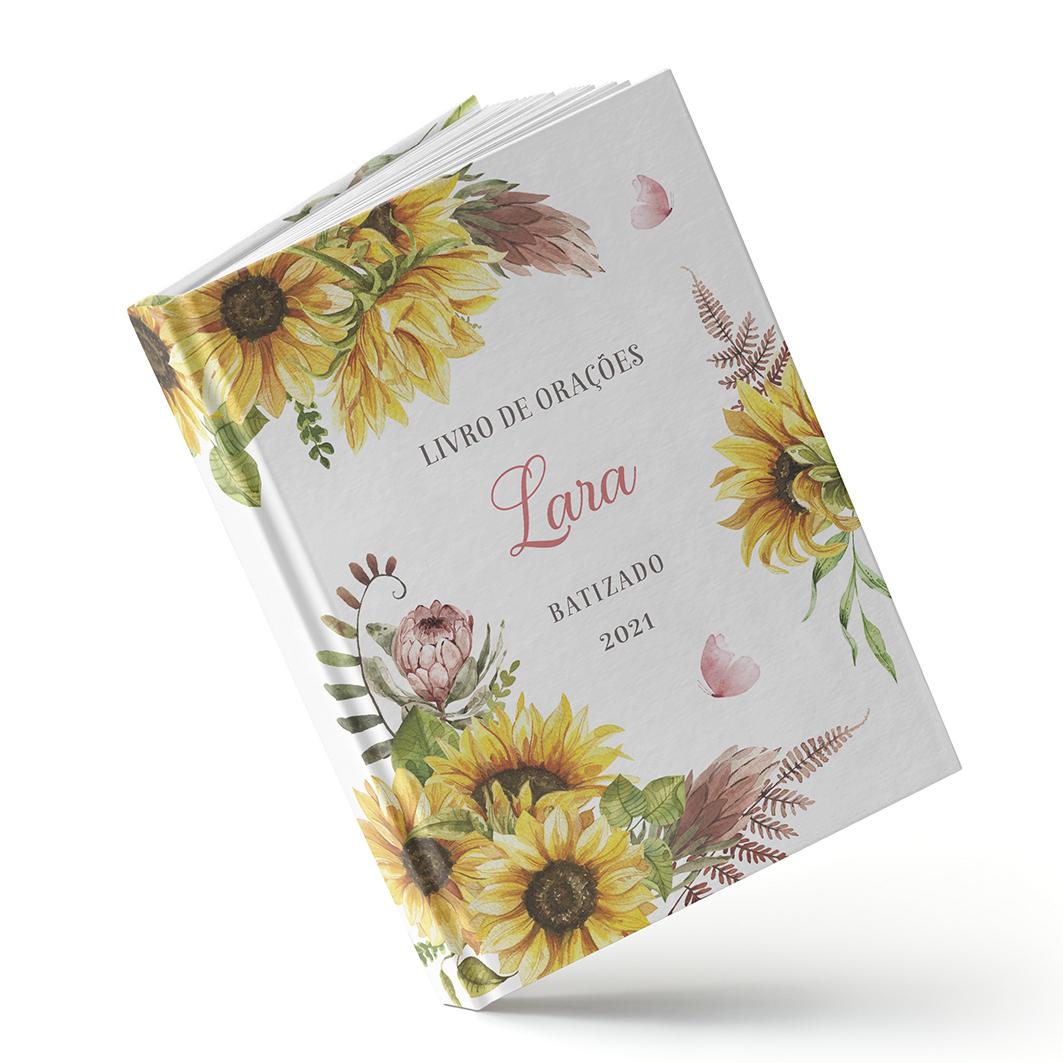 Livro de Orações - Girassol - Sweetcards