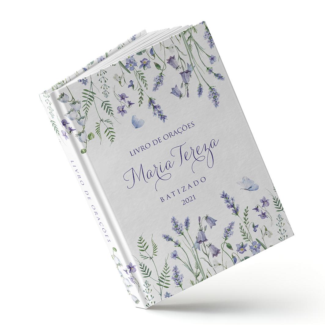 Livro Primeira Eucaristia - Lilac - Sweetcards