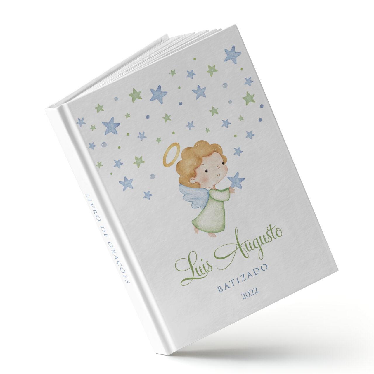 Livro de orações - Estrelinha Azul - Sweetcards